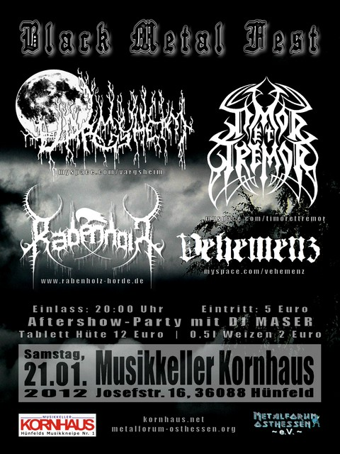 Black Metal Fest – 21.01.2012 – Hünfeld