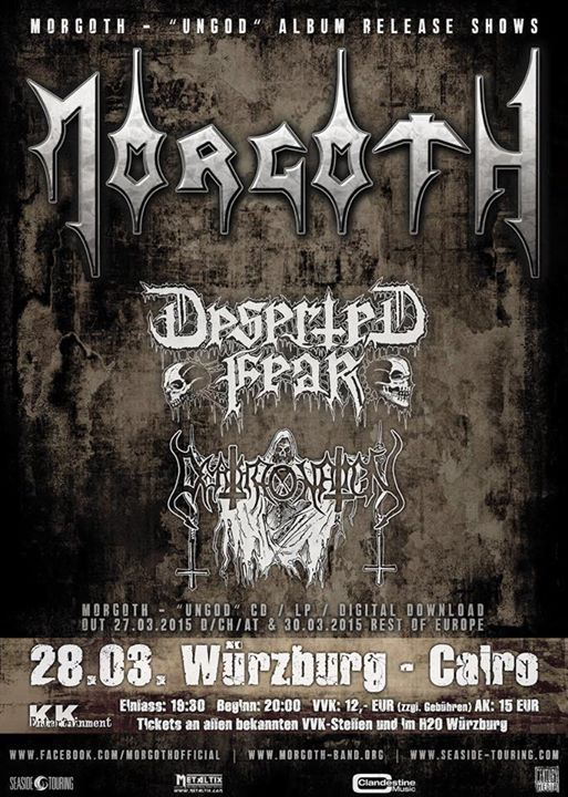 Ungod – Release Shows – 28.03.2015 – Würzburg