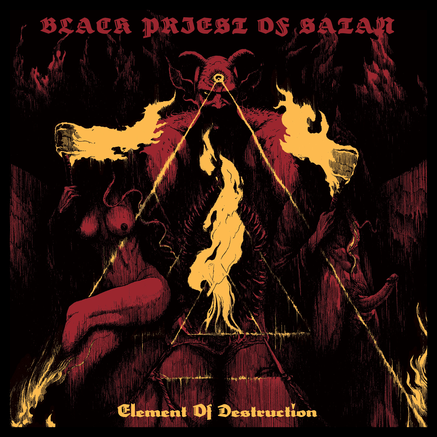 Black Priest Of Satan – Element Of Destruction
