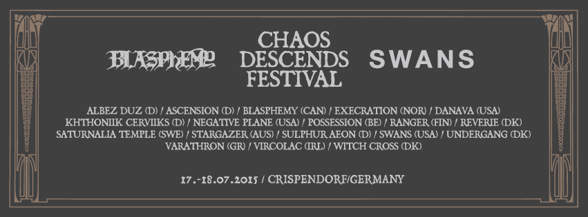 Chaos Descends Festival – Vorbericht