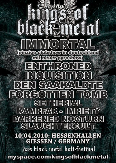 Kings Of Black Metal – 10.04.2010 – Giessen