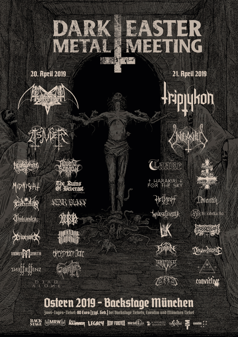 Dark Easter Metal Meeting 2019 – 20/21.04.2019 – München
