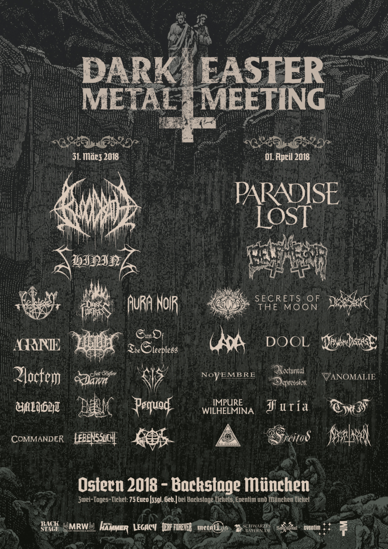 Dark Easter Metal Meeting 2018 – 31.03./01.04.2018 – München