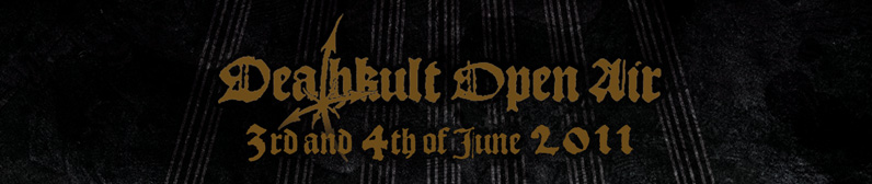 Deathkult Open Air – 3./4.06.2011 – Göllnitz