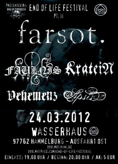 End Of Life Festival Part II – 24.03.2012 – Hammelburg