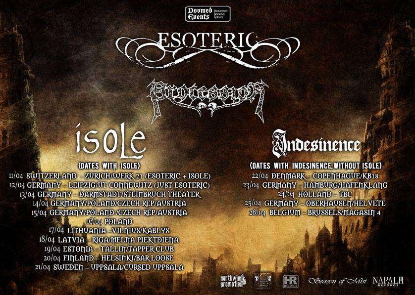 European Dissonance Tour – Vorbericht