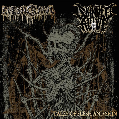 Fleshcrawl / Skinned Alive – Tales Of Flesh And Skin