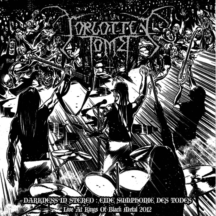 Forgotten Tomb – Darkness in Stereo: Eine Symphonie des Todes – Live in Germany
