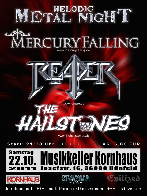 Melodic Metal Night – 22.10.2011 – Hünfeld