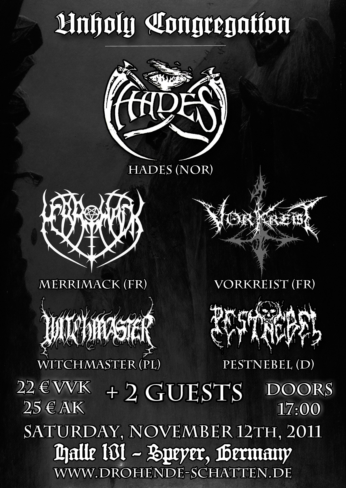 Unholy Congregation – 12.11.2011 – Speyer